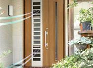 玄関リフォームおすすめポイント2 採風玄関ドア