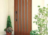 玄関リフォームおすすめポイント3  木の風合い