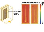 玄関ドアリフォームおすすめポイント5 断熱機能